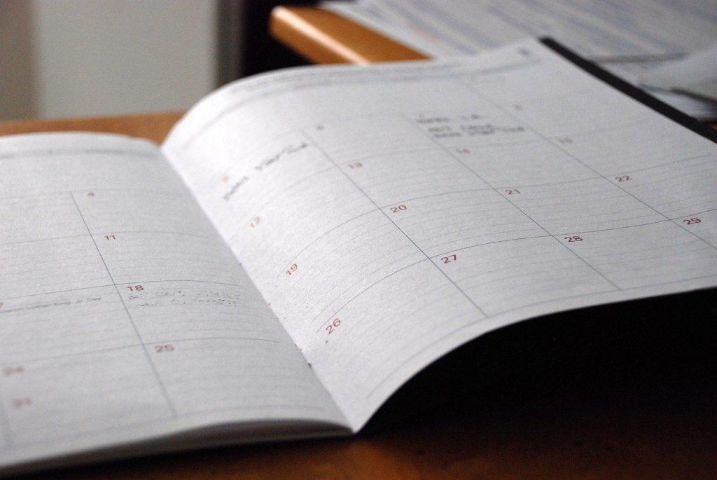 day planner, calendar, organizer-828611.jpg